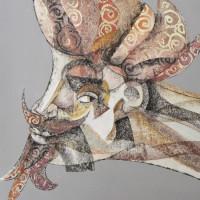 UOMINI A ROTOLI • mostra di Sandro Bellomo