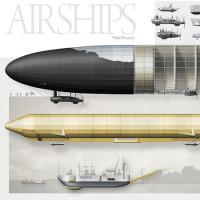 AIRSHIPS | DIRIGIBILI. NAVI TRA LE NUVOLE  • mostra di Max Pinucci